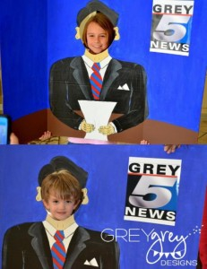 Live at FIVE anchorman NEWS themed birthday party via Kara's Party Idesa | KarasPartyIdeas.com (14)