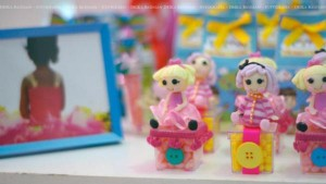 LalaLoopsy themed birthday party via Kara's Party Ideas KarasPartyIdeas.com #lalaloopsy #nanjaloopsy #birthday #party #ideas #cake #supplies #idea #favors #table #dessert (1) (33)