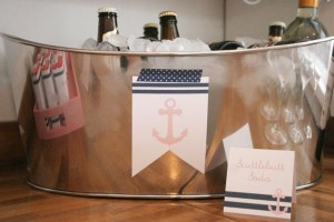 Sailor Girl Nautical Birthday Party via Kara's Party Ideas | KarasPartyIdeas.com #sailor #nautical #girl #navy #party #ideas (43)