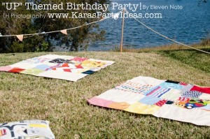 Disney's UP themed birthday party via Kara's Party Ideas | KarasPartyIdeas.com #up #themed #birthday #party #planning #ideas #cake #disney #decor #supplies #shop #idea (45)