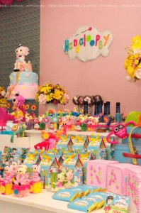 LalaLoopsy themed birthday party via Kara's Party Ideas KarasPartyIdeas.com #lalaloopsy #nanjaloopsy #birthday #party #ideas #cake #supplies #idea #favors #table #dessert (1) (31)