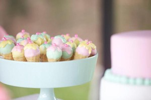 Ice Cream Shoppe Party via Kara's Party Ideas | KarasPartyIdeas.com #ice #cream #shoppe #party #ideas #summer #cake (22)