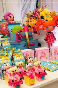 LalaLoopsy themed birthday party via Kara's Party Ideas KarasPartyIdeas.com #lalaloopsy #nanjaloopsy #birthday #party #ideas #cake #supplies #idea #favors #table #dessert (1) (29)