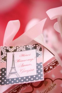 Poodle in Paris themed birthday party via Kara's Party Ideas | KarasPartyIdeas.com #poodle #paris #birthday #party #ideas #cake #cupcakes #favors #decorations #supplies #idea (34)