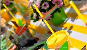Fruit garden themed birthday party via Kara's Party Ideas! KarasPartyIdeas.com #unique #party #ideas #birthday #garden #fruit #spring #cake #cupcakes #idea (11)