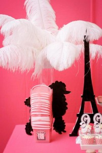 Poodle in Paris themed birthday party via Kara's Party Ideas | KarasPartyIdeas.com #poodle #paris #birthday #party #ideas #cake #cupcakes #favors #decorations #supplies #idea (33)
