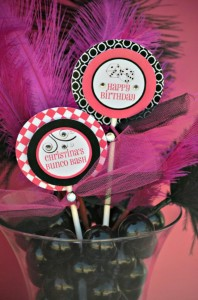 Pink BUNCO themed birthday party via Kara's Party Ideas KarasPartyIdeas.com #pink #bunco #themed #birthday #party #ideas #idea (22)