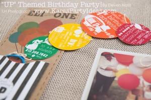 Disney's UP themed birthday party via Kara's Party Ideas | KarasPartyIdeas.com #up #themed #birthday #party #planning #ideas #cake #disney #decor #supplies #shop #idea (44)