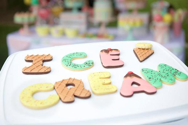 Ice Cream Shoppe Party via Kara's Party Ideas | KarasPartyIdeas.com #ice #cream #shoppe #party #ideas #summer #cake (20)