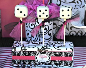 Pink BUNCO themed birthday party via Kara's Party Ideas KarasPartyIdeas.com #pink #bunco #themed #birthday #party #ideas #idea (21)
