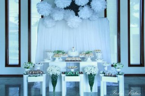 Angel themed baptism or birthday party or baby shower via Kara's Party Ideas | KarasPartyIdeas.com (25)