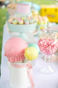 Ice Cream Shoppe Party via Kara's Party Ideas | KarasPartyIdeas.com #ice #cream #shoppe #party #ideas #summer #cake (17)