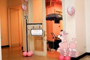 Poodle in Paris themed birthday party via Kara's Party Ideas | KarasPartyIdeas.com #poodle #paris #birthday #party #ideas #cake #cupcakes #favors #decorations #supplies #idea (22)