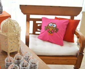 Hippie Bohemian OWL themed birthday party via Kara's Party Ideas KarasPartyIdeas.com (9)