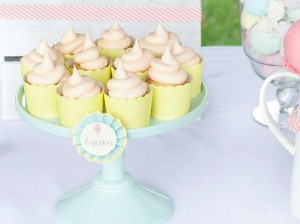 Ice Cream Shoppe Party via Kara's Party Ideas | KarasPartyIdeas.com #ice #cream #shoppe #party #ideas #summer #cake (11)