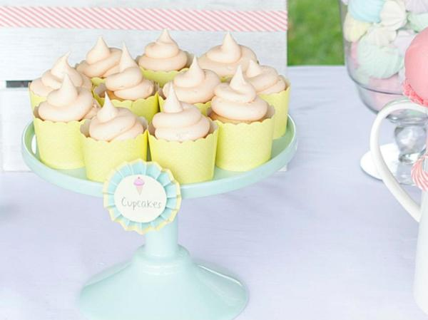 Ice Cream Shoppe Party via Kara's Party Ideas | KarasPartyIdeas.com #ice #cream #shoppe #party #ideas #summer #cake (11)
