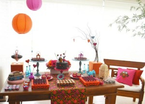 Hippie Bohemian OWL themed birthday party via Kara's Party Ideas KarasPartyIdeas.com (8)