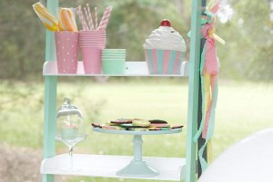 Ice Cream Shoppe Party via Kara's Party Ideas | KarasPartyIdeas.com #ice #cream #shoppe #party #ideas #summer #cake (10)