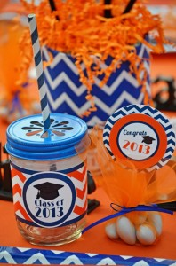 Graduation Party via Kara's Party Ideas | KarasPartyIdeas.com #grad #graduation #party #ideas (13)