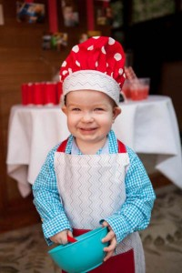 Little Chef cooking themed birthday party via Kara's Party Ideas KarasPartyIdeas.com #chef #cooking #pizza #party #idea (10)