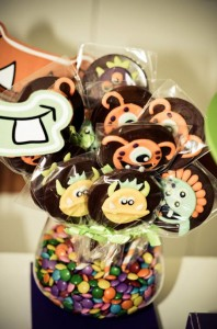 Monster themed birthday party via Kara's Party Ideas | KarasPartyIdeas.com #monster #birthday #party #ideas (20)