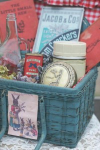 Vintage Easter Picnic Party via Kara's Party Ideas | KarasPartyIdeas.com #vintage #easter #picnic #boutique #upcycled (8)