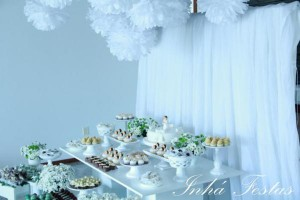 Angel themed baptism or birthday party or baby shower via Kara's Party Ideas | KarasPartyIdeas.com (17)