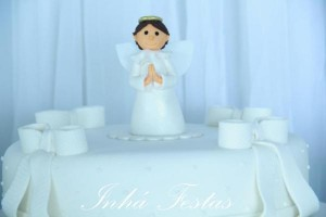 Angel themed baptism or birthday party or baby shower via Kara's Party Ideas | KarasPartyIdeas.com (14)