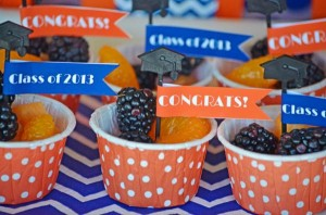 Graduation Party via Kara's Party Ideas | KarasPartyIdeas.com #grad #graduation #party #ideas (8)