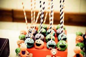 Monster themed birthday party via Kara's Party Ideas | KarasPartyIdeas.com #monster #birthday #party #ideas (19)