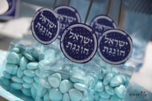 Israel Independence Day Party via Kara's Party Ideas   KarasPartyIdeas.com #israel #independence #day #party (15)
