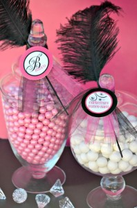 Pink BUNCO themed birthday party via Kara's Party Ideas KarasPartyIdeas.com #pink #bunco #themed #birthday #party #ideas #idea (13)