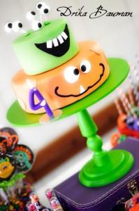 Monster themed birthday party via Kara's Party Ideas   KarasPartyIdeas.com #monster #birthday #party #ideas (18)