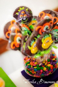 Monster themed birthday party via Kara's Party Ideas | KarasPartyIdeas.com #monster #birthday #party #ideas (17)
