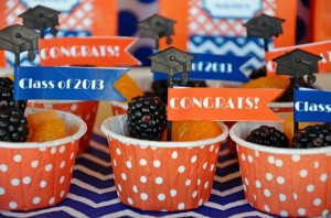 Graduation Party via Kara's Party Ideas | KarasPartyIdeas.com #grad #graduation #party #ideas (5)