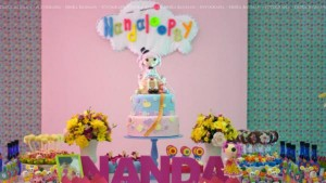LalaLoopsy themed birthday party via Kara's Party Ideas KarasPartyIdeas.com #lalaloopsy #nanjaloopsy #birthday #party #ideas #cake #supplies #idea #favors #table #dessert (1) (20)
