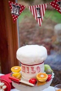 Little Chef cooking themed birthday party via Kara's Party Ideas KarasPartyIdeas.com #chef #cooking #pizza #party #idea (7)