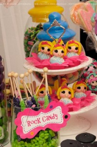 LalaLoopsy themed birthday party via Kara's Party Ideas KarasPartyIdeas.com #lalaloopsy #nanjaloopsy #birthday #party #ideas #cake #supplies #idea #favors #table #dessert (1) (19)