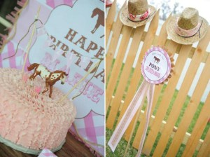 Pink pony themed birthday party via Kara's Party Ideas KarasPartyIdeas.com #pony #horse #birthday #party (22)
