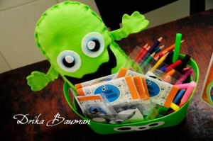 Monster themed birthday party via Kara's Party Ideas | KarasPartyIdeas.com #monster #birthday #party #ideas (13)