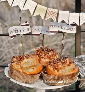 Bohemian Spring Picnic Party via Kara's Party Ideas KarasPartyIdeas.com (8)