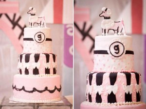 Poodle in Paris themed birthday party via Kara's Party Ideas | KarasPartyIdeas.com #poodle #paris #birthday #party #ideas #cake #cupcakes #favors #decorations #supplies #idea (5)