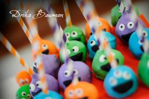 Monster themed birthday party via Kara's Party Ideas | KarasPartyIdeas.com #monster #birthday #party #ideas (9)