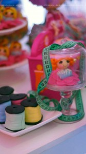 LalaLoopsy themed birthday party via Kara's Party Ideas KarasPartyIdeas.com #lalaloopsy #nanjaloopsy #birthday #party #ideas #cake #supplies #idea #favors #table #dessert (1) (17)