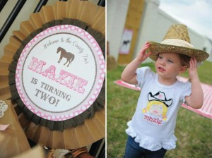 Pink pony themed birthday party via Kara's Party Ideas KarasPartyIdeas.com #pony #horse #birthday #party (19)