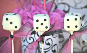 Pink BUNCO themed birthday party via Kara's Party Ideas KarasPartyIdeas.com #pink #bunco #themed #birthday #party #ideas #idea (7)