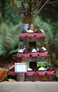 Little Red Riding Hood Birthday Party via Kara's Party Ideas #storybook #party #idea (2)