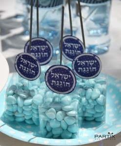 Israel Independence Day Party via Kara's Party Ideas | KarasPartyIdeas.com #israel #independence #day #party (6)