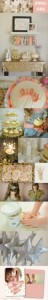 Sparkle & Shine themed birthday party via Kara's Party Ideas | KarasPartyIdeas.com #sparkle #shine #birthday #party #theme #girl #idea #cake #ideas #anthropologie (6)