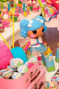 LalaLoopsy themed birthday party via Kara's Party Ideas KarasPartyIdeas.com #lalaloopsy #nanjaloopsy #birthday #party #ideas #cake #supplies #idea #favors #table #dessert (1) (14)